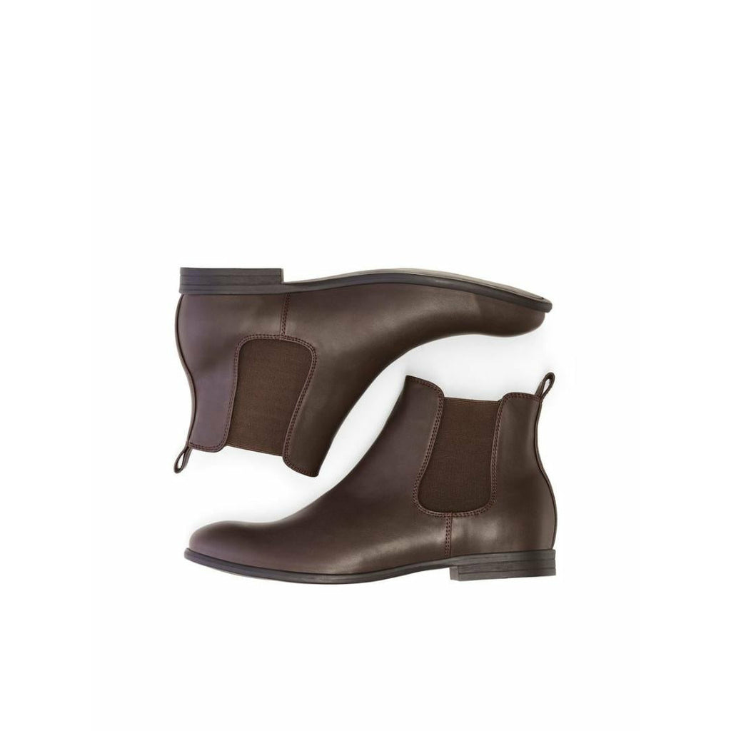 Jack & Jones Mitchell Chelsea PU Boot - Java - Beales department store