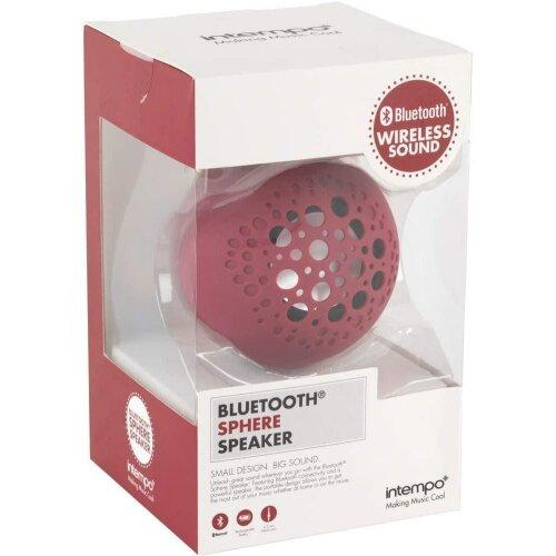 Intempo Bluetooth Sphere Speaker - Berry - Beales department store