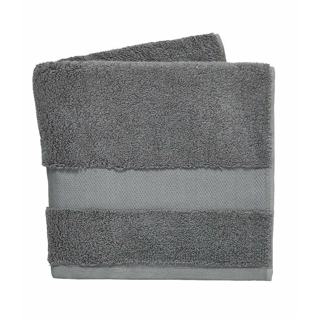 DKNY Lincoln Hand Towel - Iron - Beales department store