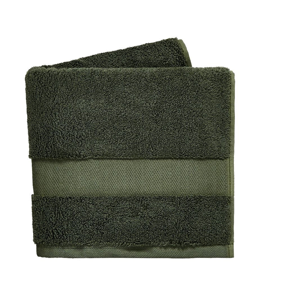 DKNY Lincoln Bath Sheet - Olive - Beales department store