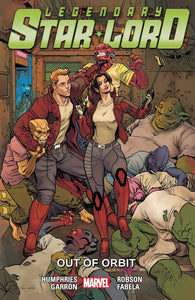 Legendary Star-Lord (Paperback) Vol 04 Out Of Orbit Graphic Novels published by Marvel Comics