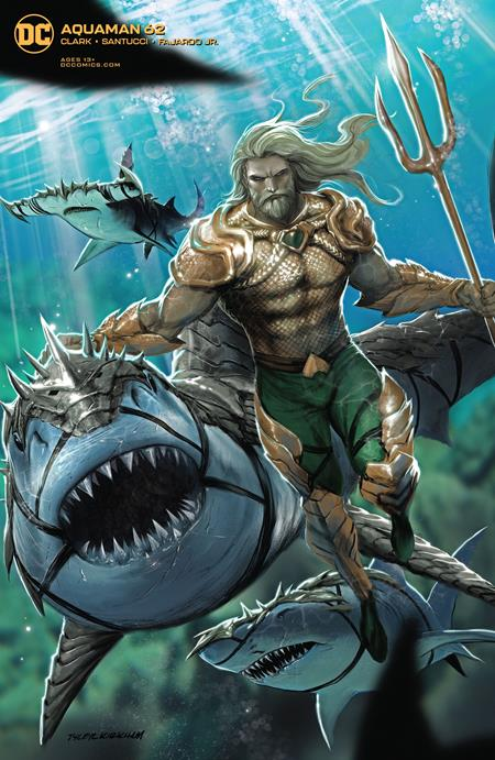 Aquaman (2016 Dc) (6th Series) #62 Tyler Kirkham Variant Cover (NM) Comic Books published by Dc Comics