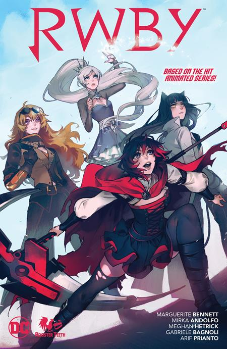 Rwby (Paperback) Graphic Novels published by Dc Comics