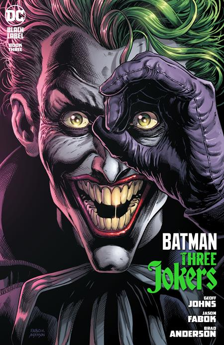 Batman Three Jokers (2020 DC) #3 (Of 3) Cvr A Jason Fabok Joker (Mature) (NM) Comic Books published by Dc Comics