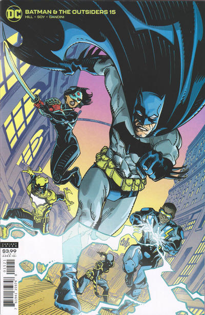 Batman And The Outsiders (2018 Dc) (3rd Series) #15 Cully Hamner Variant Cover (NM) Comic Books published by Dc Comics