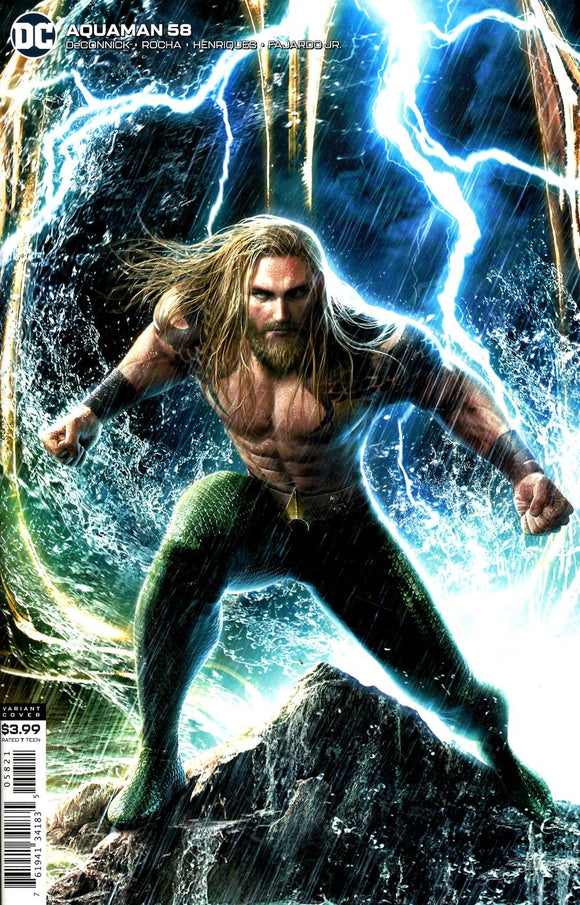 Aquaman (2016 Dc) (6th Series) #58 Jeremy Roberts Variant (NM) Comic Books published by Dc Comics