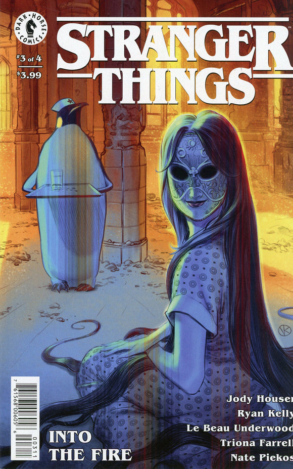 Stranger Things Into The Fire (2020 Dark Horse) #3 (Of 4) Cvr A Kalachev (NM) Comic Books published by Dark Horse Comics
