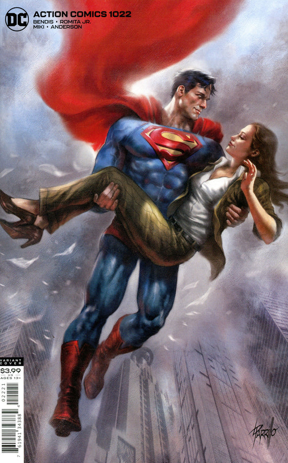 Action Comics (2016 Dc) (3rd Series) #1022 L Parrillo Variant (NM) Comic Books published by Dc Comics