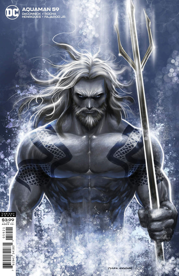 Aquaman (2016 Dc) (6th Series) #59 Tyler Kirkham Variant (NM) Comic Books published by Dc Comics