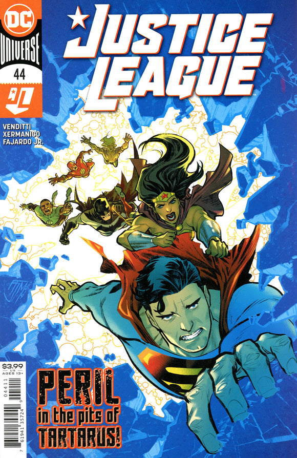 Justice League (2018 Dc) (3rd Series) #44 (NM) Comic Books published by Dc Comics