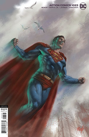 Action Comics (2016 Dc) (3rd Series) #1023 Lucio Parrillo Var Ed (NM) Comic Books published by Dc Comics