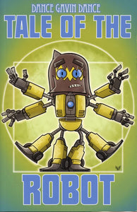 Tale Of The Robot: A Dance Gavin Dance Graphic Novel (Paperback) Graphic Novels published by Z2 Comics