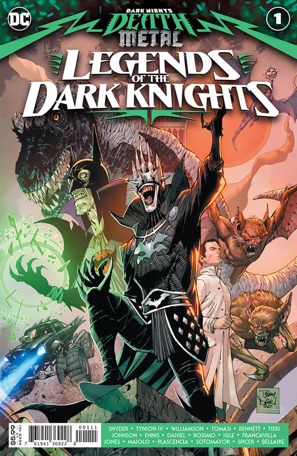 Dark Nights Death Metal Legends Of The Dark Knights (2020 Dc) #1 Comic Books published by Dc Comics