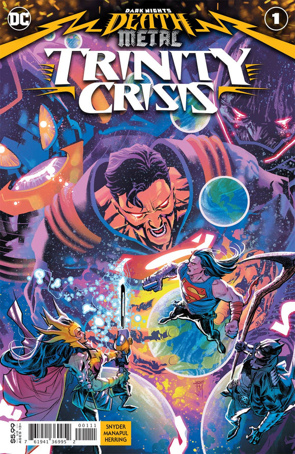 Dark Nights Death Metal Trinity Crisis (2020 DC) #1 (One Shot) Cvr A Francis Manapul (NM) Comic Books published by Dc Comics