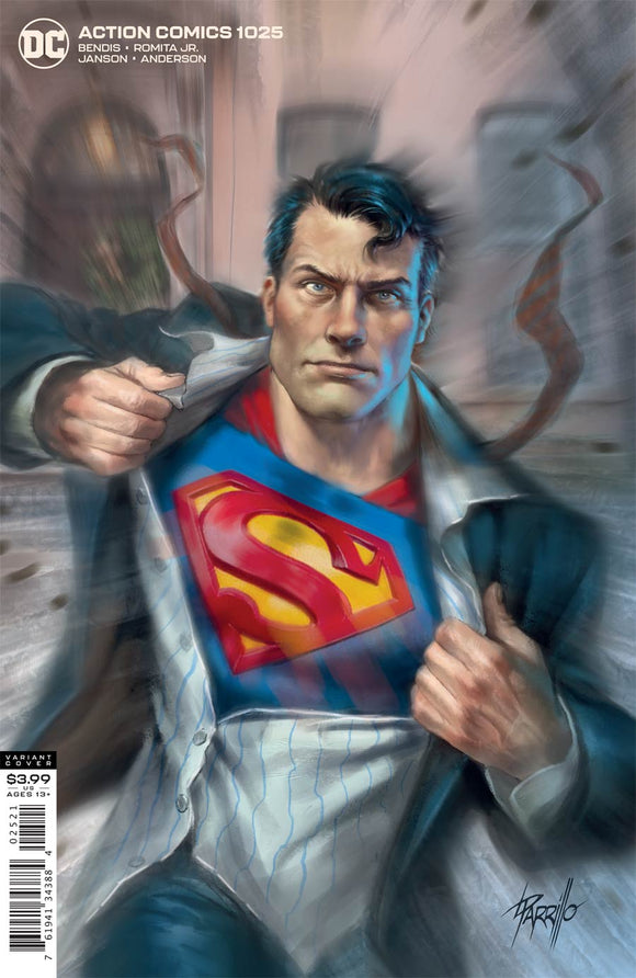 Action Comics (2016 Dc) (3rd Series) #1025 Cvr B Lucio Parrillo Var Comic Books published by Dc Comics