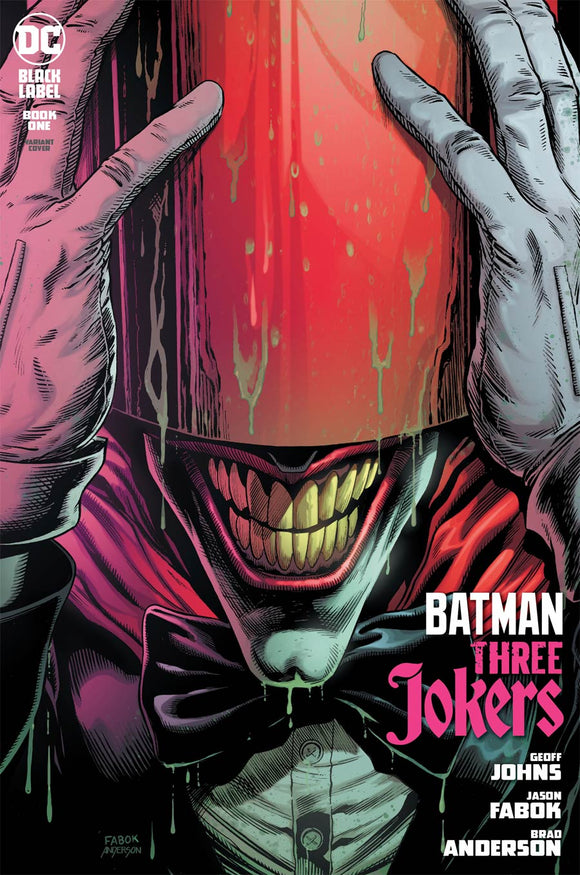 Batman Three Jokers (2020 DC) #1 Premium Variant A Jason Fabok Red Hood Cover (NM) Comic Books published by Dc Comics