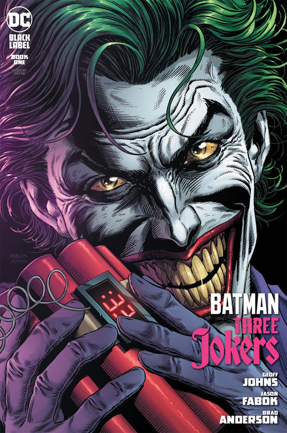Batman Three Jokers (2020 DC) #1 Premium Variant C Jason Fabok Bomb Cover (NM) Comic Books published by Dc Comics