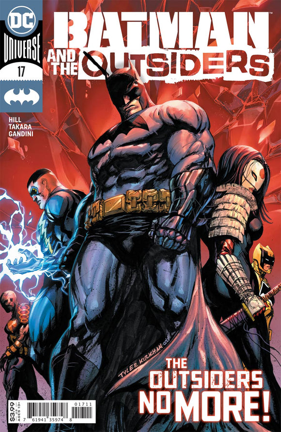 Batman And The Outsiders (2018 Dc) (3rd Series) #17 Cvr A Tyler Kirkham (NM) Comic Books published by Dc Comics