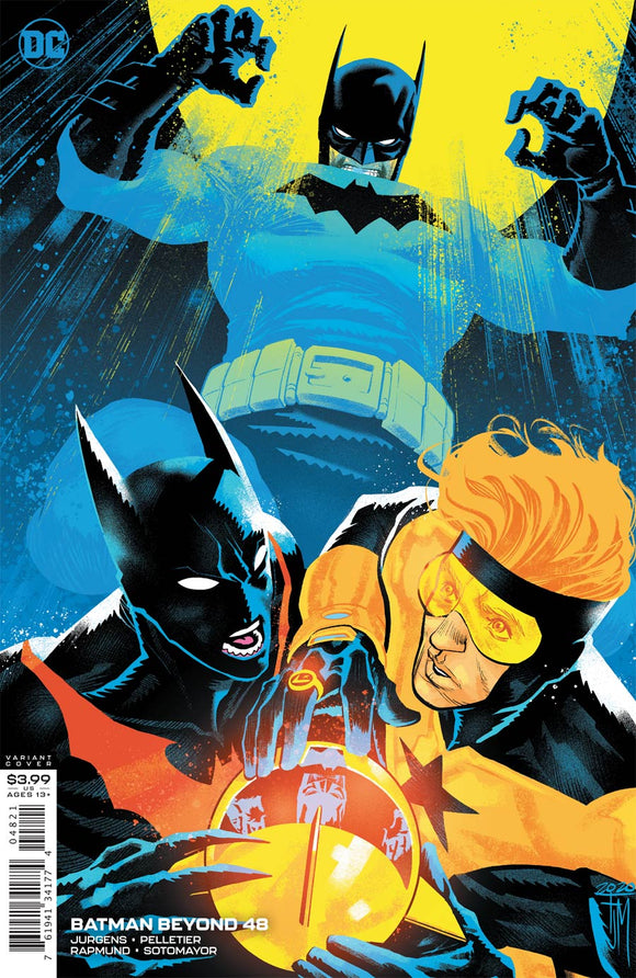 Batman Beyond (2016 Dc) (6th Series) #48 Cvr B Francis Manapul Variant Comic Books published by Dc Comics