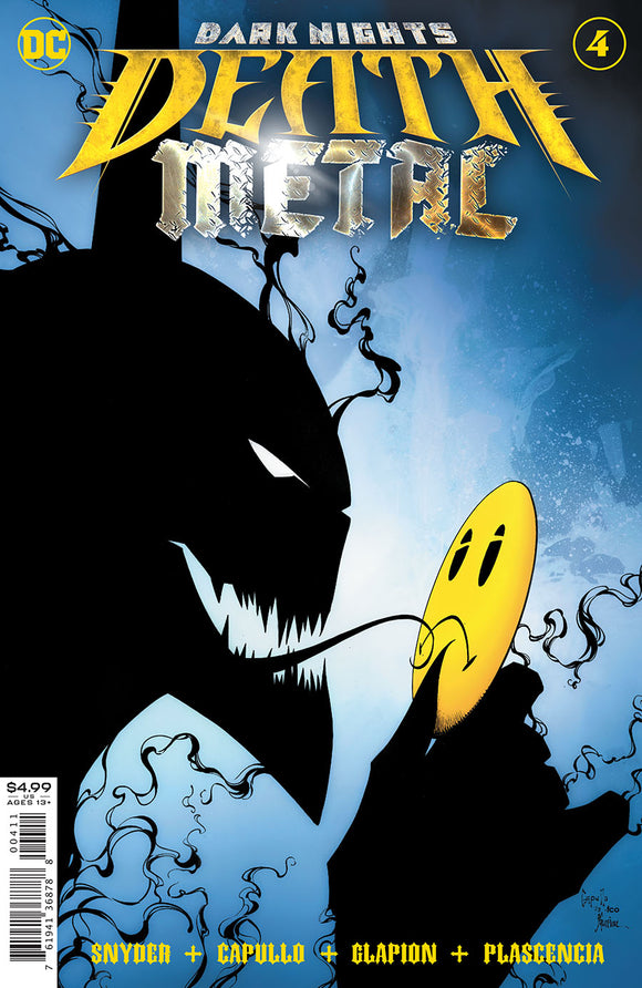 Dark Nights Death Metal (2020 Dc) #4 (Of 7) Cvr A Greg Capullo & Jonathan Glapion Foil Embossed (NM) Comic Books published by Dc Comics