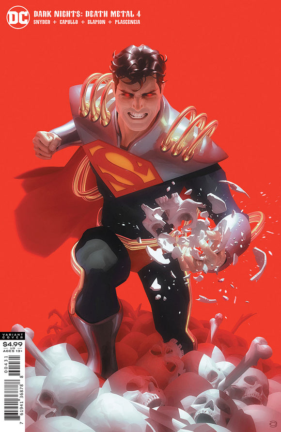 Dark Nights Death Metal (2020 Dc) #4 (Of 7) Cvr C Alex Garner Superboy-Prime Varian (NM) Comic Books published by Dc Comics
