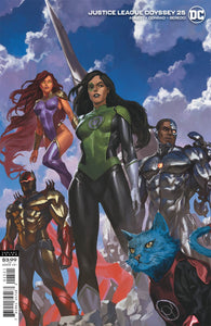 Justice League Odyssey (2018 Dc) #25 Cvr B Skan Variant Comic Books published by Dc Comics
