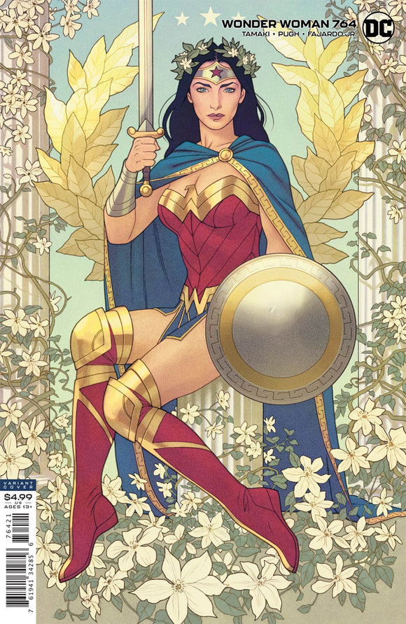 Wonder Woman (2016 Dc) (5th Series) #764 Cvr B Joshua Middleton Card Stock Variant Comic Books published by Dc Comics
