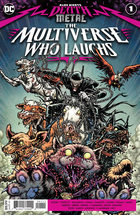 Dark Nights Death Metal Multiverse Who Laughs #1 (One Shot) Cvr A Chris Burnham Comic Books published by Dc Comics