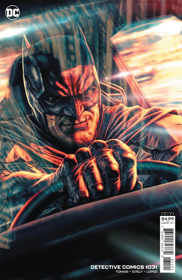 Detective Comics (2016 Dc) (3rd Series) #1031 Cvr B Lee Bermejo Card Stock Variant Comic Books published by Dc Comics
