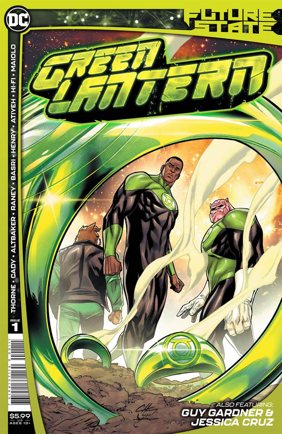 Future State Green Lantern (2020 DC) #1 (Of 2) Cvr A Clayton Henry Comic Books published by Dc Comics