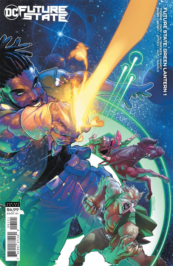 Future State Green Lantern (2020 DC) #1 (Of 2) Cvr B Jamal Campbell Card Stock Var Comic Books published by Dc Comics
