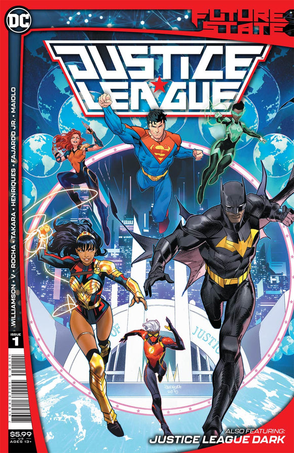 Future State Justice League (2020 DC) #1 (Of 2) Cvr A Dan Mora Comic Books published by Dc Comics