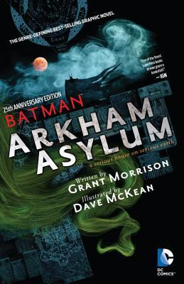 Batman Arkham Asylum 25th Anniv Dlx Ed (Paperback) (Mature) Graphic Novels published by Dc Comics
