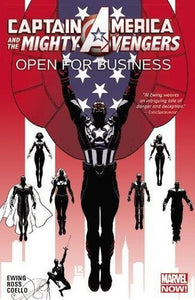 Captain America Mighty Avengers (Paperback) Vol 01 Open For Business Graphic Novels published by Marvel Comics