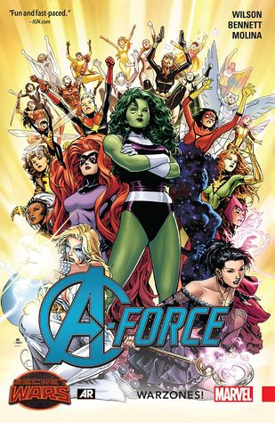 A-Force (Paperback) Warzones Vol 00 Graphic Novels published by Marvel Comics