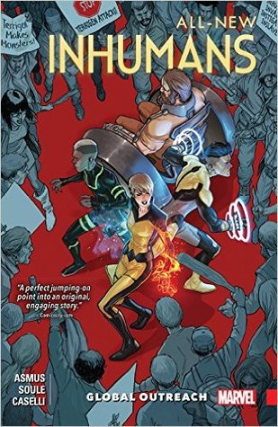 All New Inhumans (Paperback) Vol 01 Global Outreach Graphic Novels published by Marvel Comics