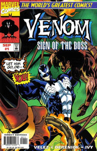 Venom Sign of the Boss (1997) #1 (NM-) Comic Books published by Marvel Comics