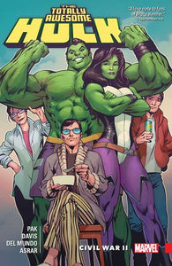 Totally Awesome Hulk (Paperback) Vol 02 Civil War Ii Graphic Novels published by Marvel Comics