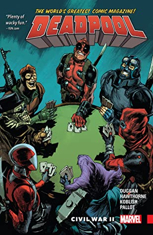 Deadpool Worlds Greatest (Paperback) Vol 05 Civil War Ii Graphic Novels published by Marvel Comics