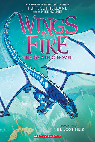 Wings Of Fire Sc Gn Vol 02 Lost Heir Graphic Novels published by Graphix