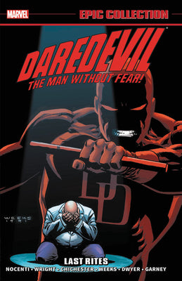 Daredevil Epic Collection (Paperback) Last Rites Graphic Novels published by Marvel Comics