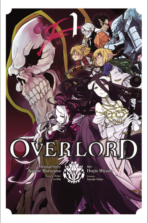 Overlord Gn Vol 01 (Mature) Manga published by Yen Press