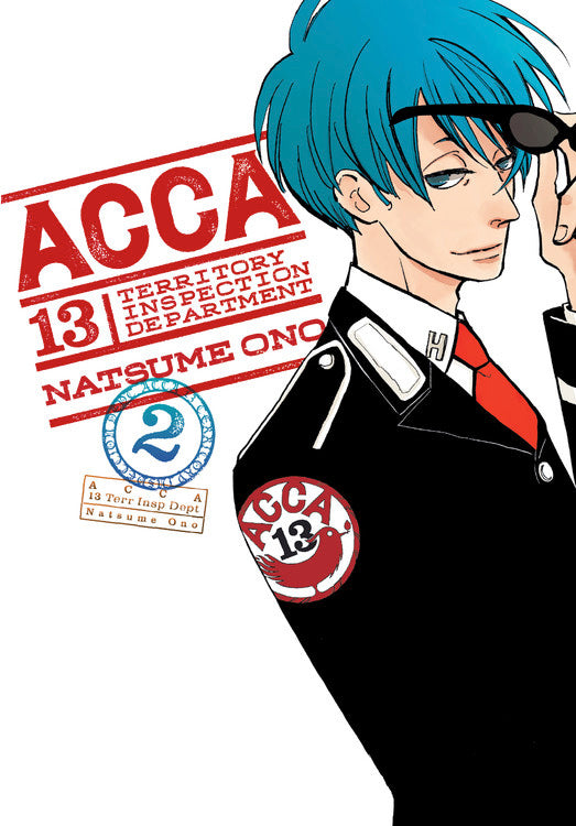Acca 13 Territory Inspection Dept Gn Vol 02 Manga published by Yen Press