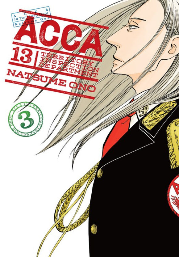 Acca 13 Territory Inspection Dept Gn Vol 03 Manga published by Yen Press