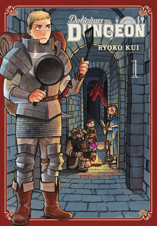 Delicious In Dungeon Gn Vol 01 Manga published by Yen Press