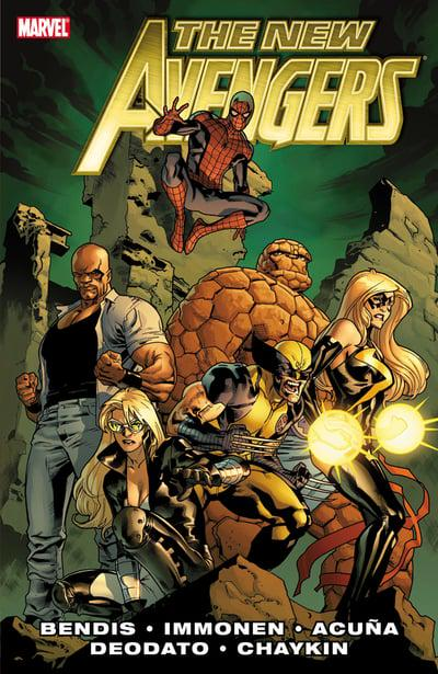 New Avengers By Brian Michael Bendis Premium (Hardcover) Vol 02 Graphic Novels published by Marvel Comics