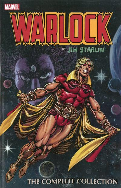 Warlock By Jim Starlin (Paperback) Complete Collection Graphic Novels published by Marvel Comics