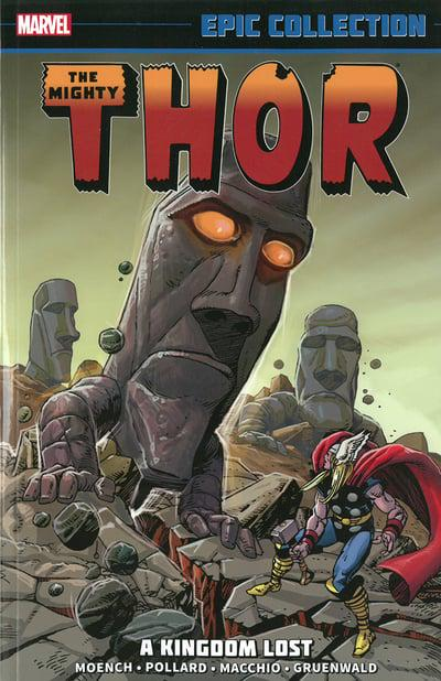 Thor Epic Collection (Paperback) Kingdom Lost Graphic Novels published by Marvel Comics