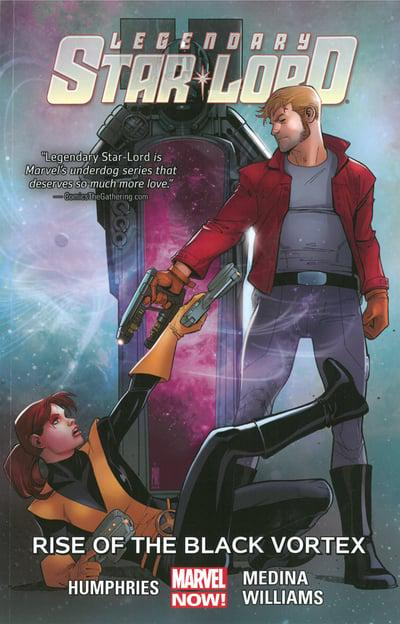 Legendary Star-Lord (Paperback) Vol 02 Rise Of Black Vortex Graphic Novels published by Marvel Comics