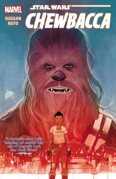 Star Wars (Paperback) Chewbacca Graphic Novels published by Marvel Comics